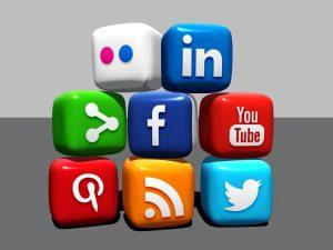 social media icons - social media marketing